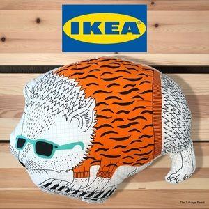 """IKEA """"Thorine"""" Hedgehog Pillow Cushion Kids Fun"""